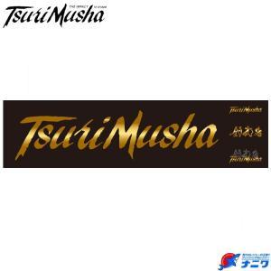 釣武者 Tsurimusha 転写ステッカー ゴールド|naniwa728