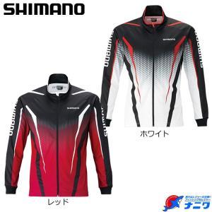 シマノ フルジッププリントシャツ(長袖) SH-051S|naniwa728
