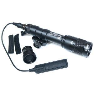 【送料無料】【20mmレイル対応】 SUREFIREタイプ M600V フラッシュライト IRモード搭載 | エアガン ウェポンライト タクティカル LED ライト|naniwabase