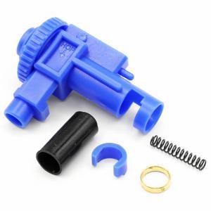 ACE1 ARMS ポリカーボネート ホップアップ チャンバー M4 用 (スタンダード ドラム式)ブルー(青)  A-HCG2-M4P|naniwabase