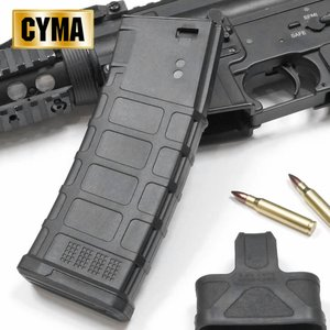 マルイM4対応 CYMA 220連マガジン スプリング式 BK CYMA-M126 naniwabase