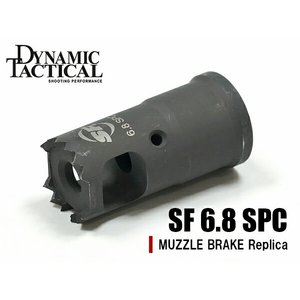 SUREFIREタイプ フラッシュハイダー SF 6.8 SPC Flash Hider (14mm Anti-Clockwise) 14mm逆ネジ|naniwabase