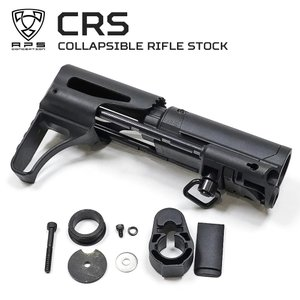 APS M4電動ガン コラプシブル ライフルストック BK EE100 スタンダードM4シリーズ対応|naniwabase