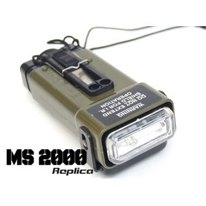FMA製 MS2000 フラッシュストロボライト (TB702) FRS MS2000(M)DISTRESS MARKER LIGHT Replica (MILITARY STROBE)|naniwabase