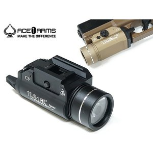 【送料無料】【ACE1 ARMS】TLR-1 HL LED ハンドガンウェポンライト《STREAMLIGHTタイプ》《高輝度LED搭載》|naniwabase