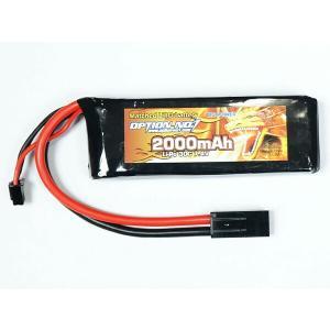OPTION NO.1製 ミニSタイプLiPOバッテリー  小型で高性能 トリガーレスポンスや連射サ...