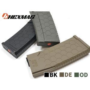 HEXMAG Airsoft 120連 マガジン スタンダード M4 電動ガン対応  正式ライセンス品 高品質ポリマー製 naniwabase