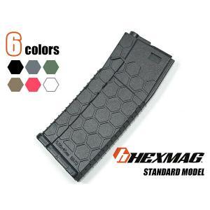 HEXMAG 正式ライセンス 120連 マガジン ABS樹脂製 スプリング式 従来型 M4電動ガン対応 6色 カラーバリエーション naniwabase