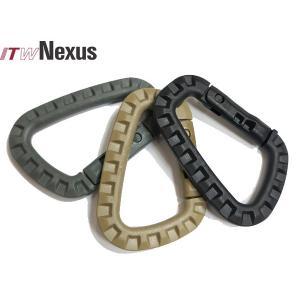 米軍採用品 ITW Nexus製実物新品 ITW TAC-LINK   タックリンク(強化樹脂製カラビナ)|naniwabase