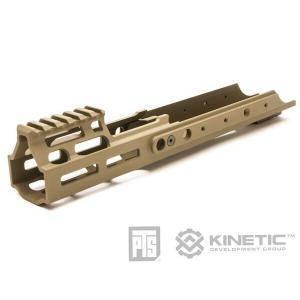 東京マルイ次世代SCAR対応 PTS Kinetic SCAR MREX M-LOK ハンドガード DE KN001490313|naniwabase