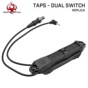 【送料無料】【20mmレイル KeyMod M-Lok対応】 Night-Evolution製 TAPS デュアルスイッチ NE04040 | フラッシュライト ウェポンライト タクティカルライト|naniwabase