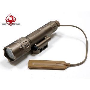 WMX200 LEDライト エアガン Night-Evolution製 INSIGHTタイプ WMX200 フラッシュライト DE (ダークアース) / NE08036-DE | サバゲ サバゲー サバイバルゲーム|naniwabase