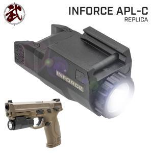SOTAC製 INFORCEタイプ APL-C ハンドガンライト ストロボ機能搭載 ブラック|naniwabase