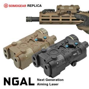【SOMOGEAR製】 NGAL Next Generation Aiming Laser エイミングデバイス LED モデル リモートスイッチ付|naniwabase