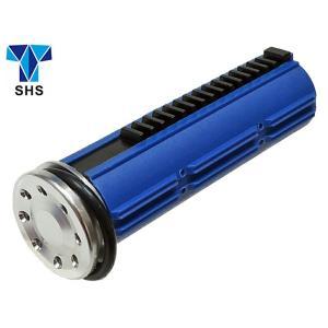 Ver2、3 メカボ共用 SHS 強化ピストン & 8ホールアルミピストンヘッド 15T 金属歯 SHS-283 naniwabase