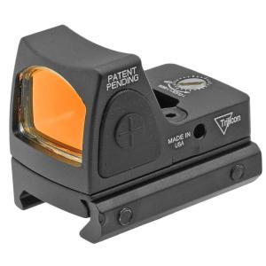 小型ドットサイト Trijiconタイプ RMR コンパクト ドットサイト リアル刻印入 スイッチモデル 20mmレイル対応|naniwabase