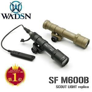 SUREFIRE タイプ M600B スカウトライト & スイッチ2種 セット 実物 CREE LED 使用 XP-G R5 LED WEX410 WADSN 製|naniwabase