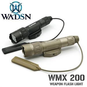 リアル 刻印モデル INSIGHT タイプ WMX200 ウェポンライト IR 赤外線 実物 CREE LED 使用 WNE04014 WADSN 製|naniwabase