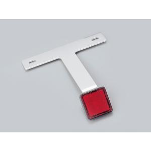 DAYTONA アルミリフレクターキット スクエア 車検対応 125cc〜 デイトナ|nankai-hiratsuka