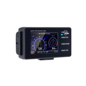 DAYTONA モトGPSレーダーLCD 3.0 手軽に持ち運べるポータブルレーダー 94420/デイトナ