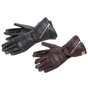 DEGNER/デグナー WG-24 ガントレットグローブ  カラー: ブラック、ブラウン サイズ: ...