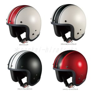 OGK FOLK G1 フォークG1 ジェットヘルメット ストライプ オージーケー|nankai-hiratsuka