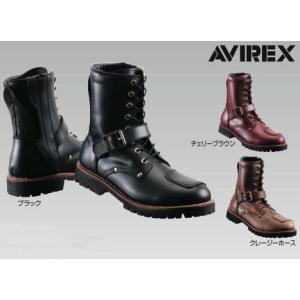 AVIREX AV2100 YAMATO バイカーズブーツ アビレックス ヤマト|nankai-hiratsuka
