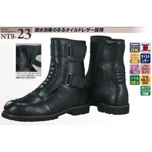 NANKAI NTB-23 オイルドレザーミドルブーツ 南海部品ナンカイ|nankai-hiratsuka