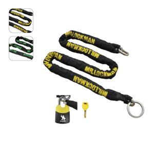 【REIT・レイト商会】【Mr.LOCKMAN・ミスターロックマン】ML-019-2000 ワイルドスライダーチェーン ストロング8 2m|nankai-kyoto