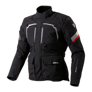 【REV'IT・レブイット】POSEIDON GTX FJT169-1010 ポセイドン GTX テキスタイルジャケット ブラック|nankai-kyoto