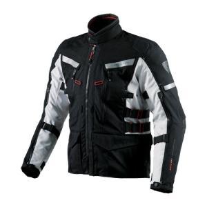 【REV'IT・レブイット】SAND2 FJT150-1170 サンド2 テキスタイルジャケット ブラック/シルバー|nankai-kyoto