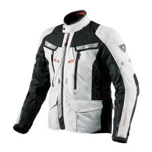 【REV'IT・レブイット】SAND2 FJT150-4050 サンド2 テキスタイルジャケット シルバー/ブラック|nankai-kyoto
