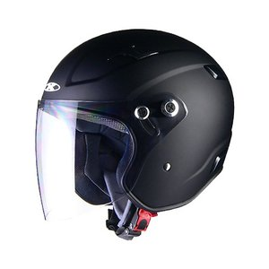 【LEAD・リード工業】X-AIR RAZZO-III エックスエアー ラッツォ3 ジェットヘルメット マットブラック|nankai-kyoto