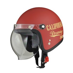 【LEAD・リード工業】LEAD MOUSSE リード ムース ジェットヘルメット ドリーミンレッド|nankai-kyoto