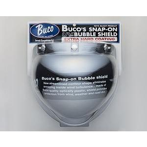 【Buco・ブコ】BUCO  シールド スナップオン バブル シールド エクストラ ハードコーティング UVカット タイプ クロームミラー nankai-kyoto