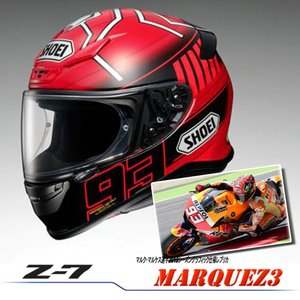 SHOEI フルフェイス ヘルメット Z-7 MARQUEZ 3 マルケス 3