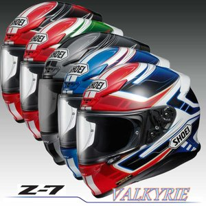 SHOEI フルフェイス ヘルメット Z-7 VALKYRIE ヴァルキリー|nankaibuhin-store