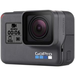 GoPro HERO6 Black ウェアラブルカメラ  HERO6 Blackがあなたの冒険をスマ...