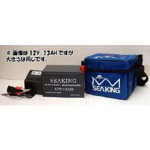ウッドマン シーキングバッテリー 12V12AH 電動リール/エレキ