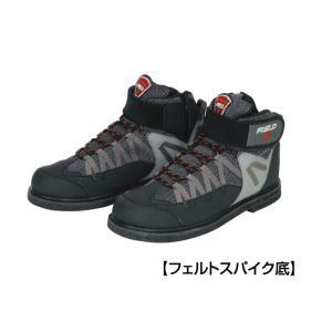 阪神素地 フェルトスパイクシューズ ハイカットモデル フェルトスパイク底 FX-902|nankiya