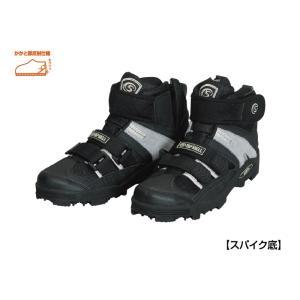 阪神素地 スパイクシューズハイカットモデル マジック  TS-903|nankiya