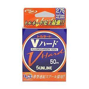 サンライン トルネード Vハード 50m 1.25〜3号 nankiya