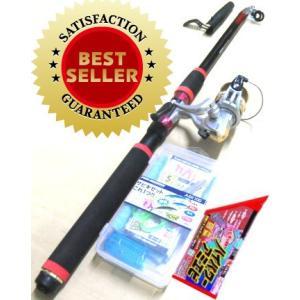 釣り竿セット サビキセットプロマリン わくわく サビキ釣りセット DX 270cm エサセット|nankiya