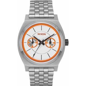 efdfea868f ニクソン 腕時計 Nixon Time Teller タイムテラー Deluxe Star Wars Bb-8 Silver/Orange  A922SW-2604