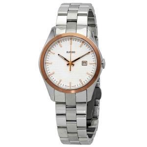 ラド― 腕時計 Rado Hyperchrome Silver Dial Ladies Watch ...