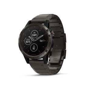 ガーミン 腕時計 Watch Garmin Fenix 5 X Plus Sapphire 010-...