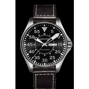 ハミルトン 腕時計 Hamilton Khaki Aviation Pilot Auto Black...