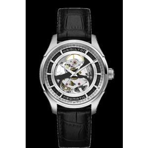 ハミルトン 腕時計 Hamilton Jazzmaster Skeleton Auto Silver...