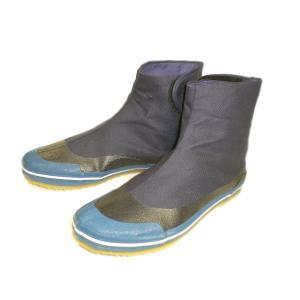 面ファスナータイプ。土踏まず部補強。足周り防水コーティング。