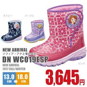 ディズニー キッズ ジュニア ウィンターブーツ APM C019ESP 子供 靴 アナと雪の女王 ソフィア ファー カジュアル ボア 抗菌 防臭|nankyu